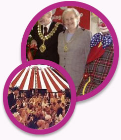 Circus fun for businesses, corporate events and company fun/activity day