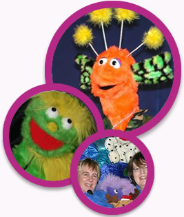 fabulous puppet shows are full of fun, music and laughter with lots of audience participation